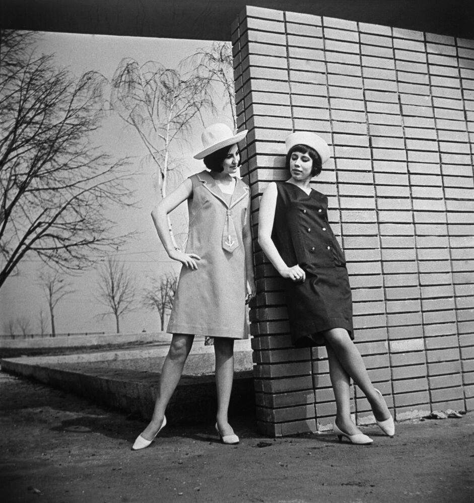 Kolekcja odzieży damskiej, 1966 rok