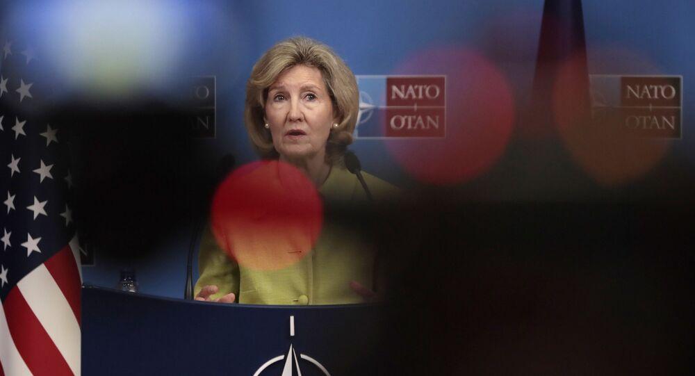 Stała przedstawiciel USA przy NATO Kay Bailey Hutchinson