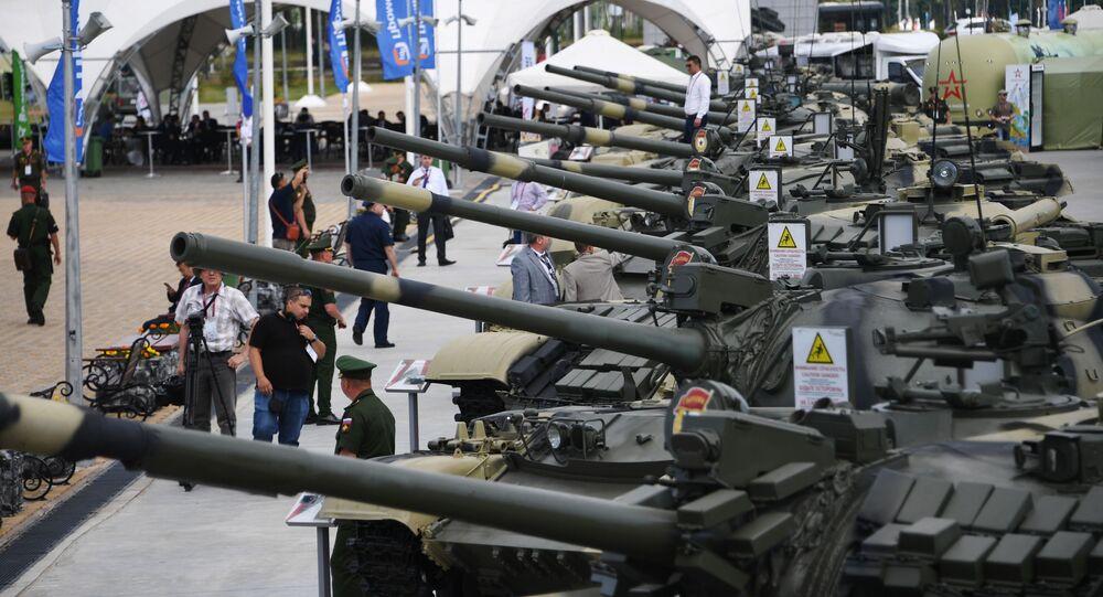 """Sprzęt wojskowy na Międzynarodowym Forum Wojskowym """"Armia-2019"""""""