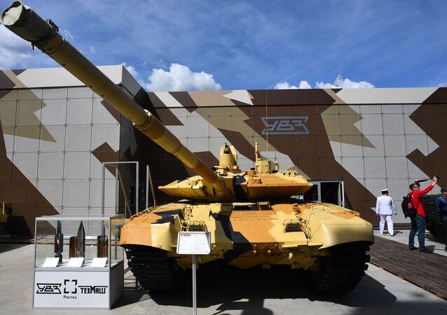 """Czołg Т-90 МС na Międzynarodowym Forum Wojskowym """"Armia-2019"""""""
