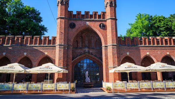 Brama Rosgarteńska w Kaliningradzie  - Sputnik Polska