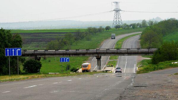 Koniec obwodnicy w kierunku Symferopola i Odessy - Sputnik Polska