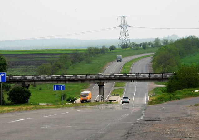 Koniec obwodnicy w kierunku Symferopola i Odessy