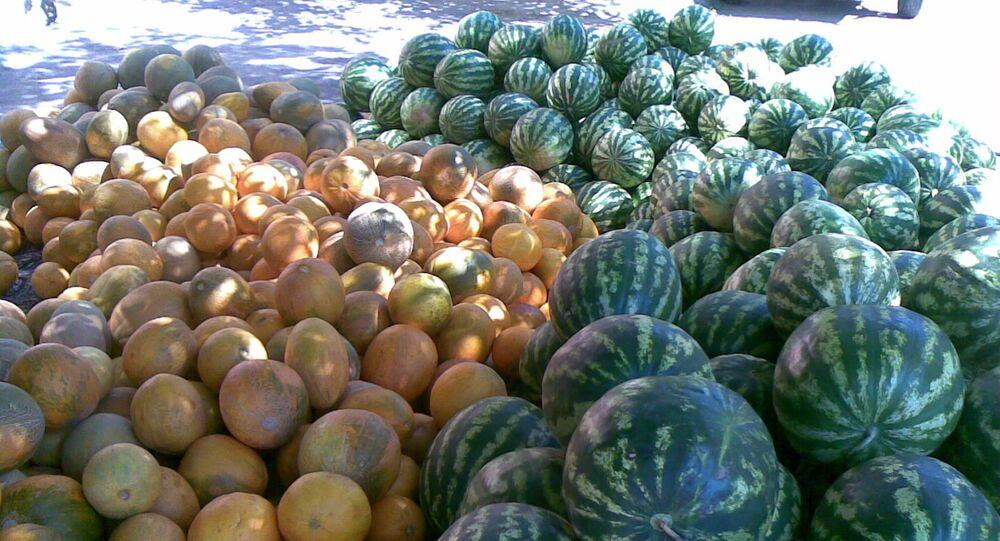 Chersońskie arbuzy i melony