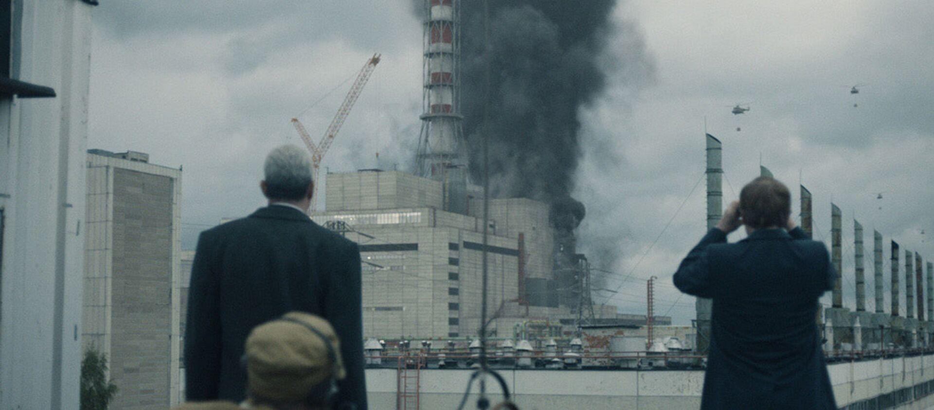 "Kadr z serialu ""Czarnobyl"" - Sputnik Polska, 1920, 24.06.2020"