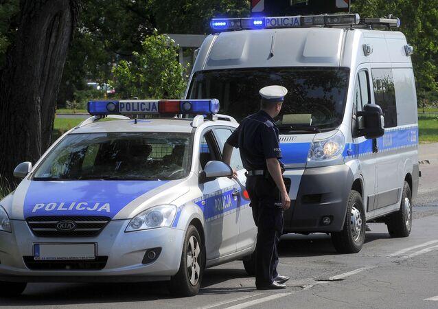 Policja. Zdjęcie archiwalne