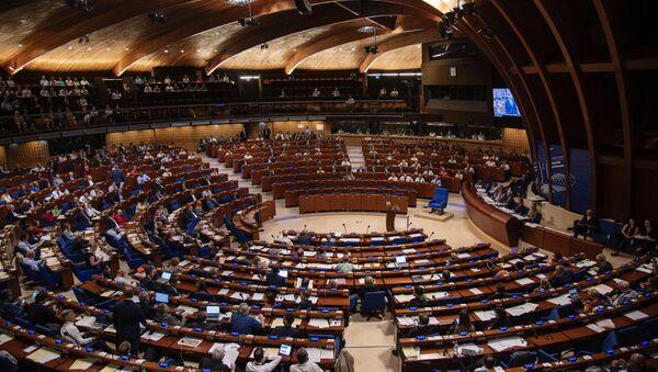 Sala posiedzeń Zgromadzenia Parlamentarnego Rady Europy - Sputnik Polska