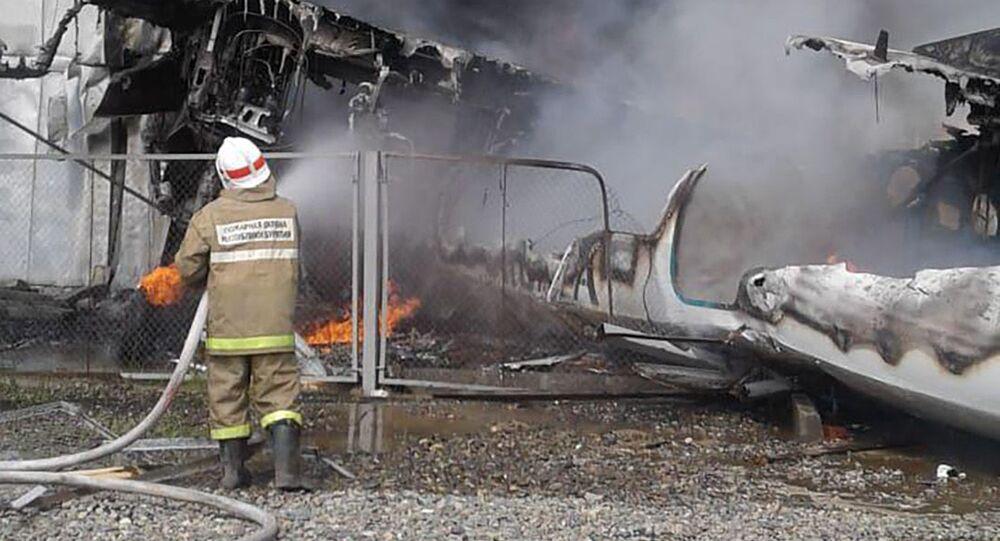 Katastrofa An-24 w Buriacji
