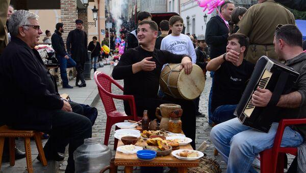 Festiwal wina w Gruzji - Sputnik Polska