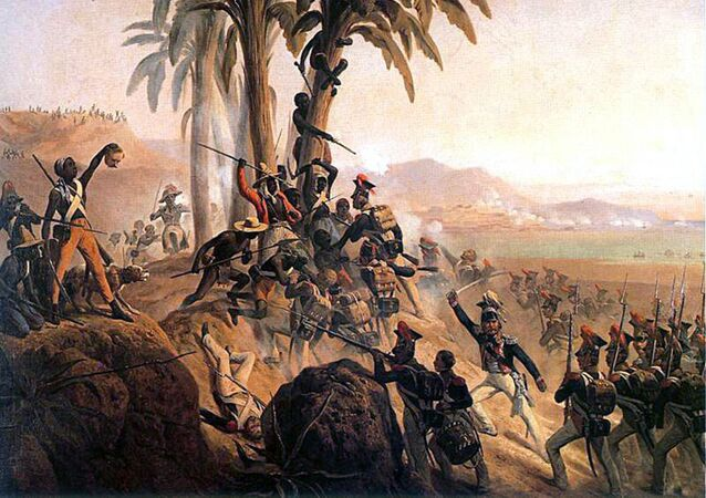 Starcia polskich legionistów z powstańcami (Bitwa pod San Domingo)