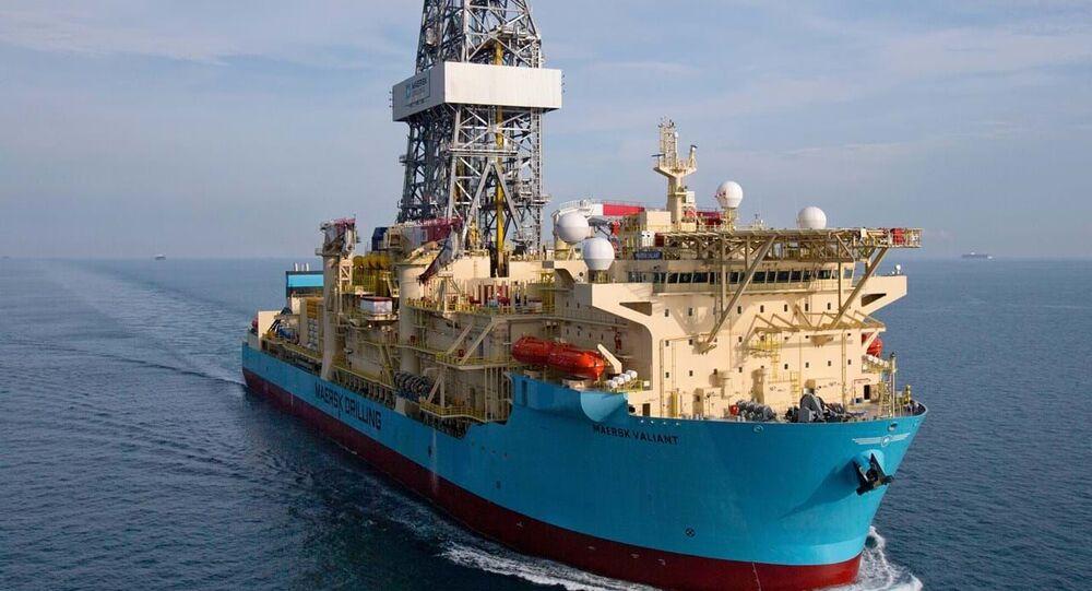 Statek wiertniczy Maersk Drilling