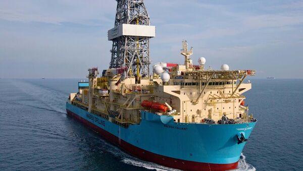Statek wiertniczy Maersk Drilling - Sputnik Polska