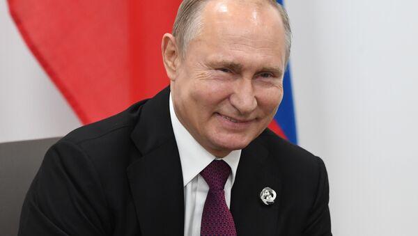 Władimir Putin na szczycie G20 w Japonii - Sputnik Polska