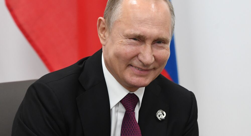 Spotkanie Władimira Putina i Donalda Trumpa na szczycie G20 w Japonii