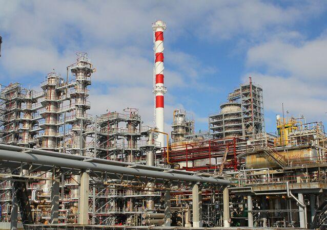 Rafineria w Mozyrzu