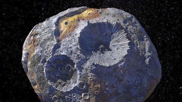 Artystyczny wizerunek asteroidy Psyche - Sputnik Polska
