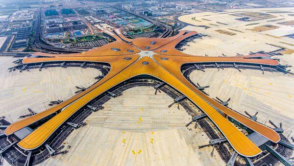 Chińskie  lotnisko Daxing - Sputnik Polska