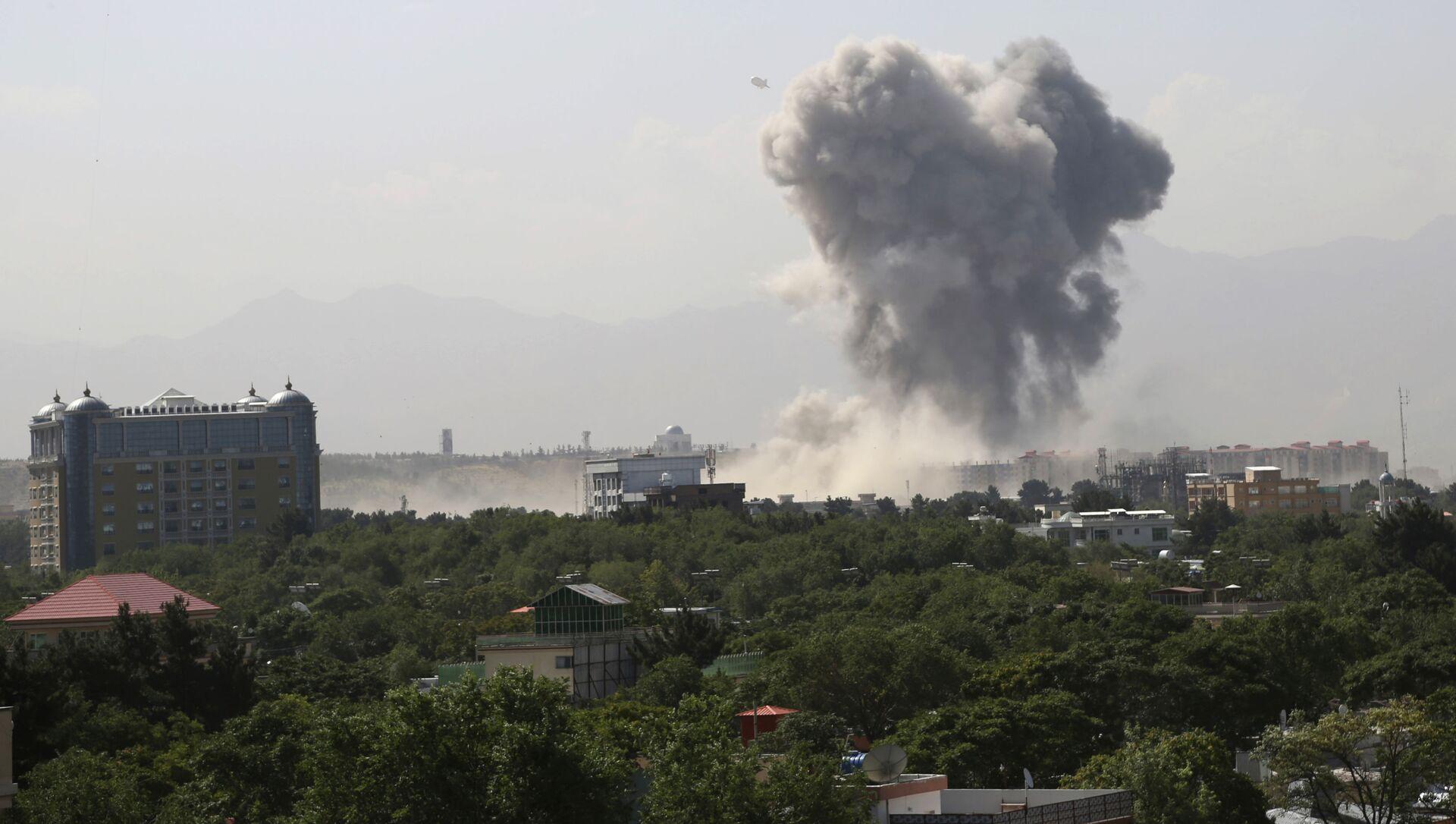 Wybuch w Kabulu - Sputnik Polska, 1920, 01.06.2021