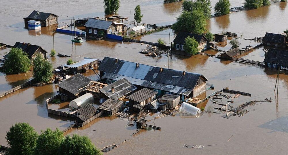 Powódź na Syberii