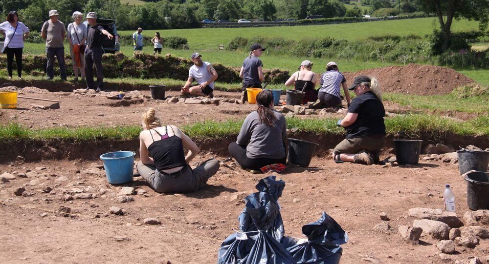 Stanowisko archeologiczne na brytyjskiej wyspie Anglesey