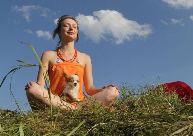 Medytacja z pupilem