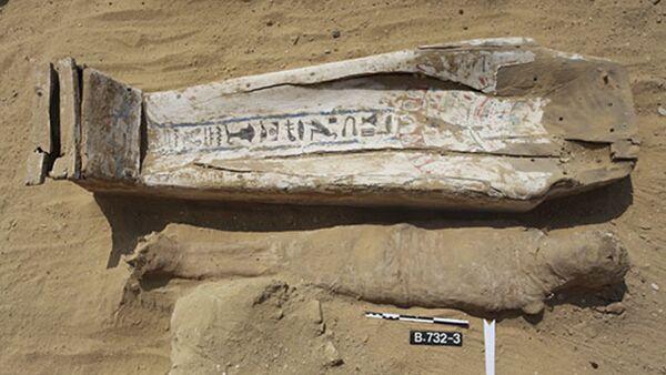 Mumie znalezione w Egipcie przez polskich archeologów - Sputnik Polska