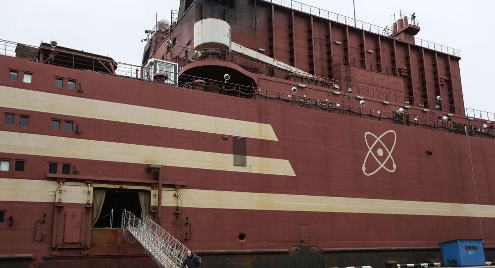 Pływający blok energetyczny Akademik Łomonosow