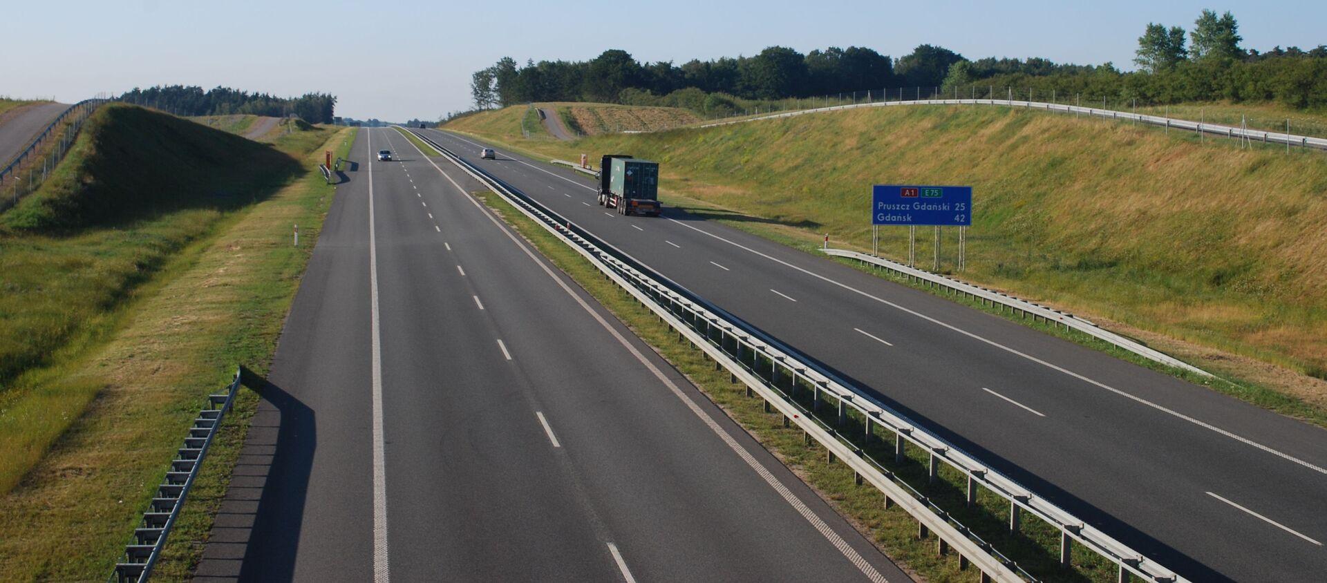 Polska autostrada A1 - Sputnik Polska, 1920, 19.06.2021