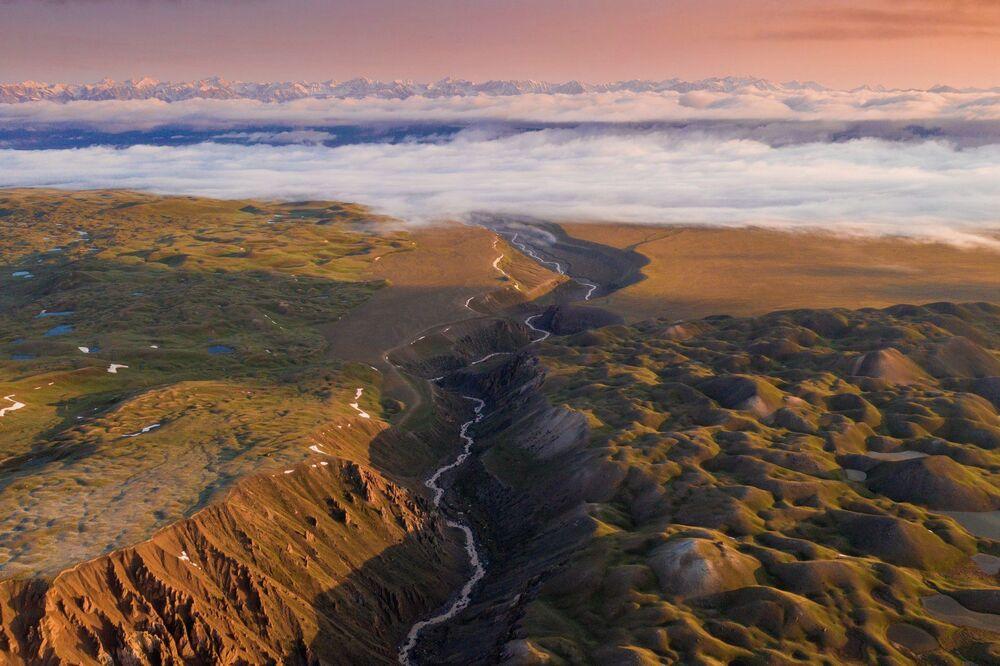 Podróż holenderskiego fotografa Alberta Drosa po Kirgistanie