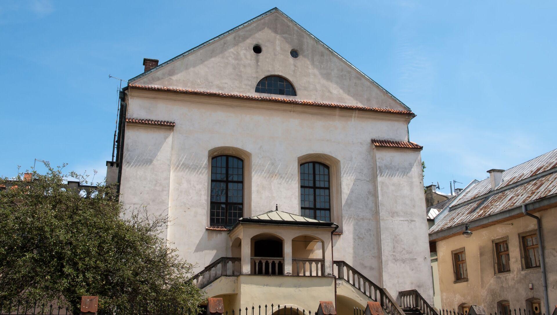Synagoga Izaaka w Krakowie - Sputnik Polska, 1920, 30.05.2021
