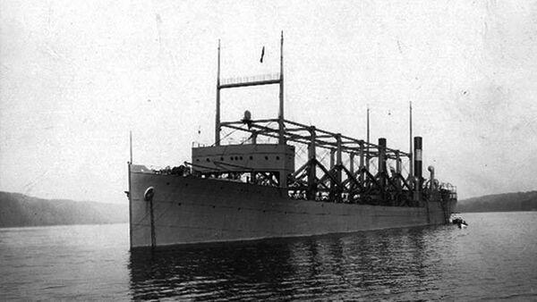 Amerykański statek węglowy - Cyclops - Sputnik Polska