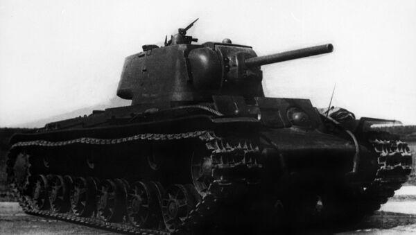 Ciężki czołg KV-1 - Sputnik Polska