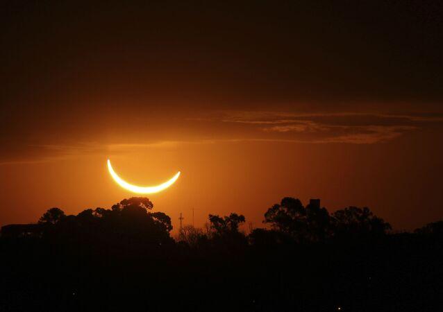 Zaćmienie Słońca 2019 w Argentynie.