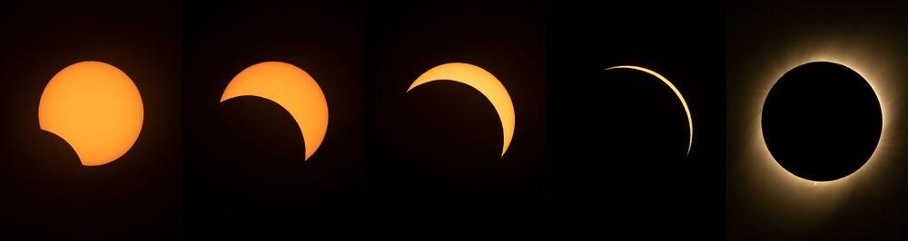 Zaćmienie Słońca 2019 w Chile