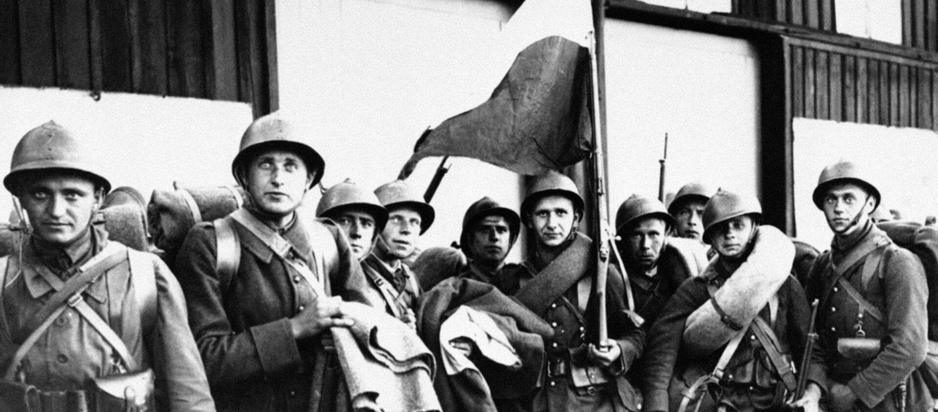 Polscy żołnierze podczas II Wojny Światowej - Sputnik Polska, 1920, 04.07.2019