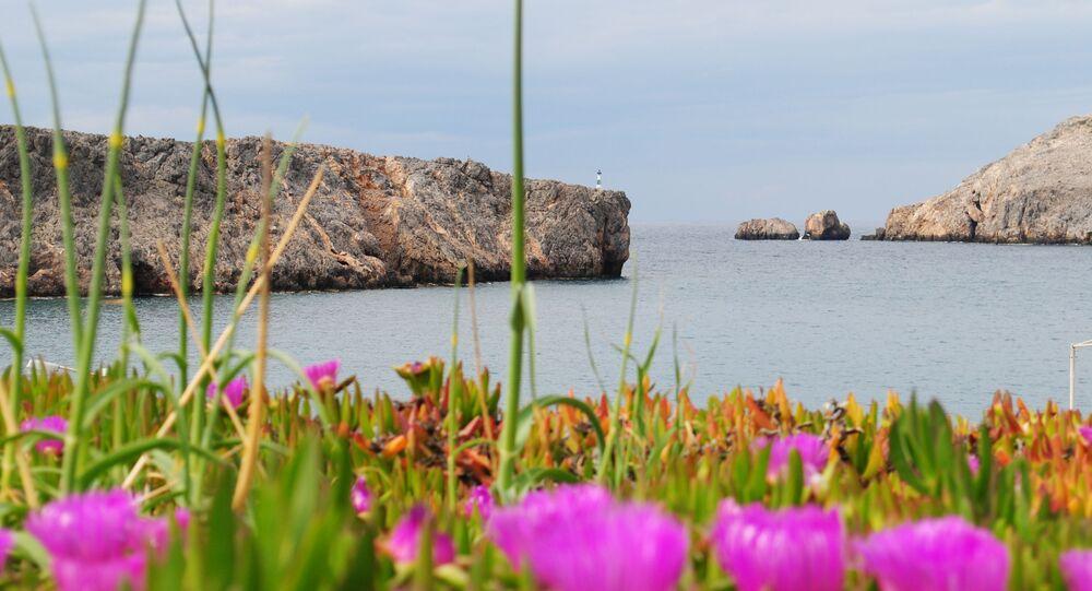 Grecka wyspa Andikitira