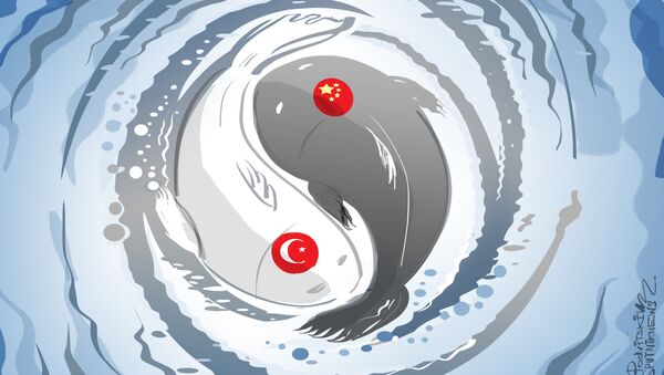 Chińsko-turecki yin i yang - Sputnik Polska