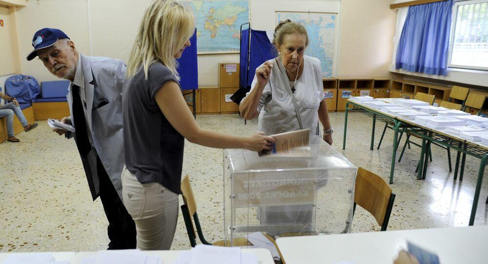 Wybory w Grecji