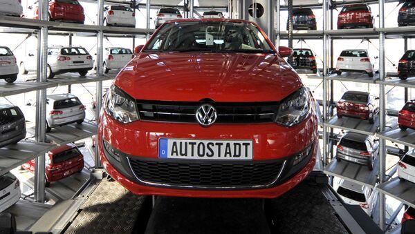 Fabryka Volkswagena w Wolfsburgu - Sputnik Polska