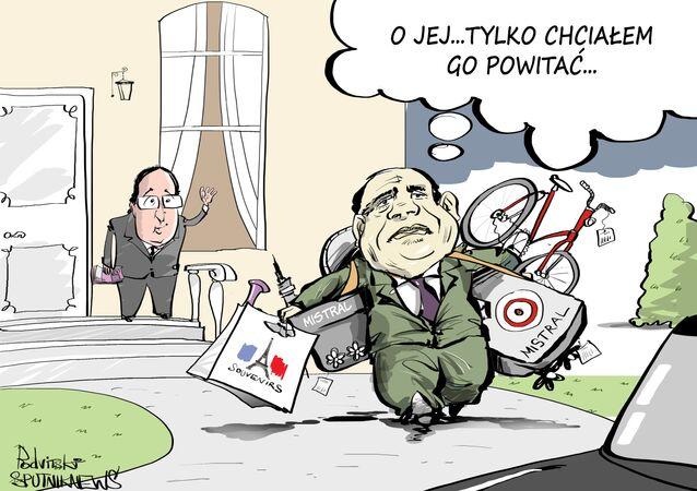 Egipt kupuje przeznaczone wcześniej dla Rosji Mistrale