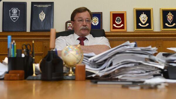 Dyrektor departamentu ds. nowych wyzwań i zagrożeń MSZ FR Ilja Rogaczew - Sputnik Polska