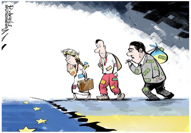 Ukraińscy deputowani i biznesmeni proszą o azyl w UE