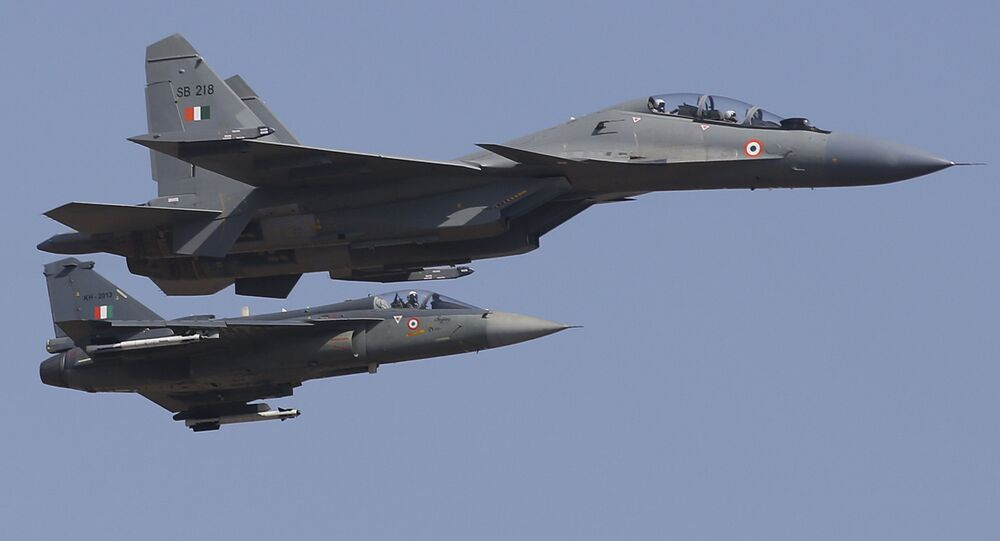 Zespół myśliwców Su-30SM