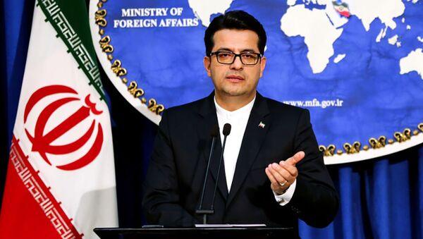 Rzecznik MSZ Iranu, dr Seyed Abbas Mousavi - Sputnik Polska