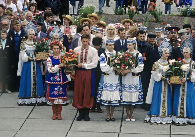 Festiwal narodów słowiańskich z udziałem Ukraińców, Białorusinów i Rosjan