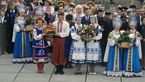 Festiwal narodów słowiańskich z udziałem Ukraińców, Białorusinów i Rosjan  - Sputnik Polska