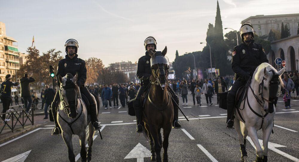 Policja konna Hiszpanii