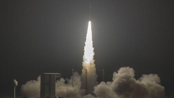 Start rakiety Vega z kosmodromu Kourou w Gujanie Francuskiej - Sputnik Polska