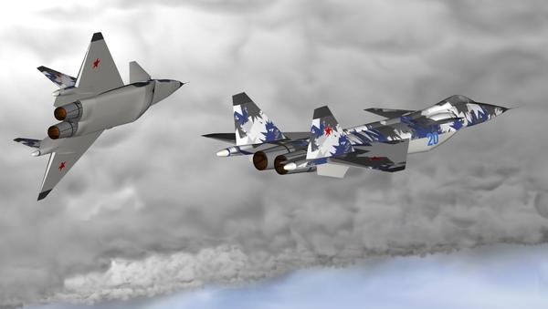 Projekt myśliwca MiG 1.44 piątej generacji - Sputnik Polska