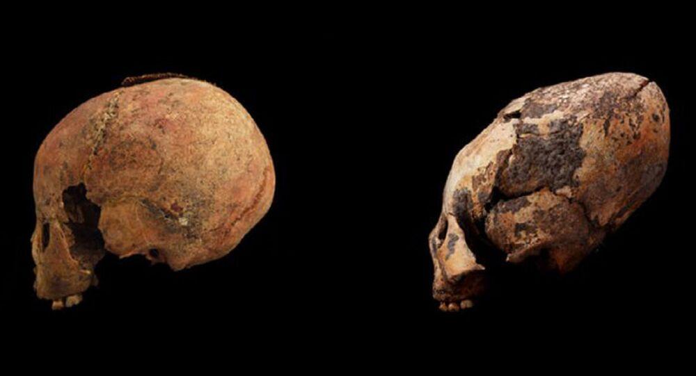 Czaszki dzieci liczące tysiące lat